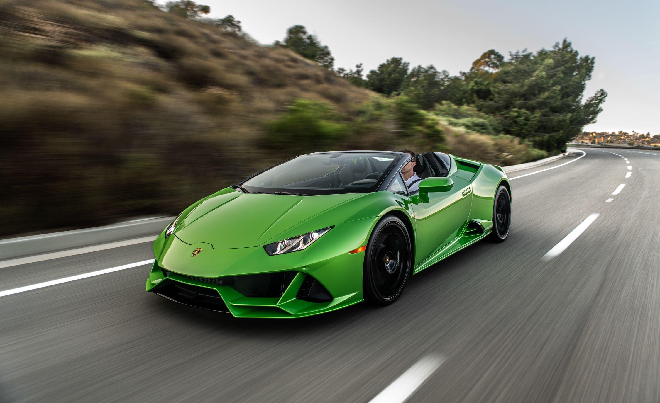 2020 Lamborghini Huracán Evo Spyder Is Pure Open,Air Excess
