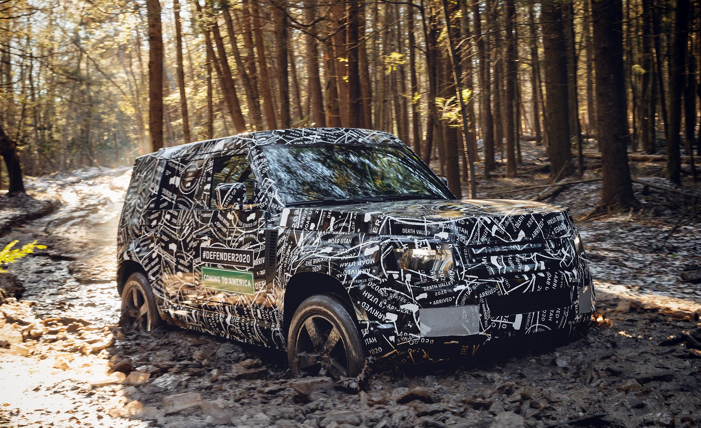 The New Land Rover Defender Goes On Sale In America In 2020