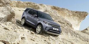 2020 Land Rover Discovery front