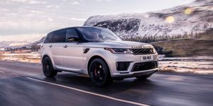 2020 Land Rover Range Rover Sport Supercharged front