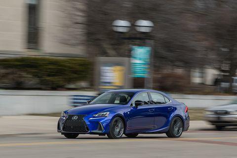 2020 Lexus IS front