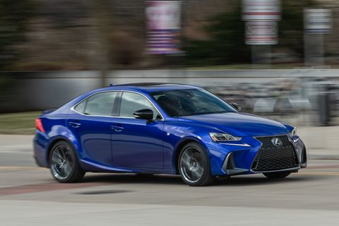 2020 Lexus Is350 F Sport Awd Is Showing Effects Of Age