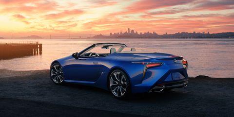 View Photos of the 2021 Lexus LC Convertible