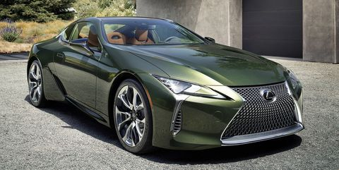 2020 Lexus Lc500 Inspiration Series Debuts In Nori Green