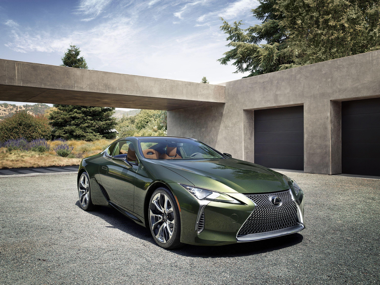 2020 Lexus Lc500 Inspiration Series Debuts In Nori Green