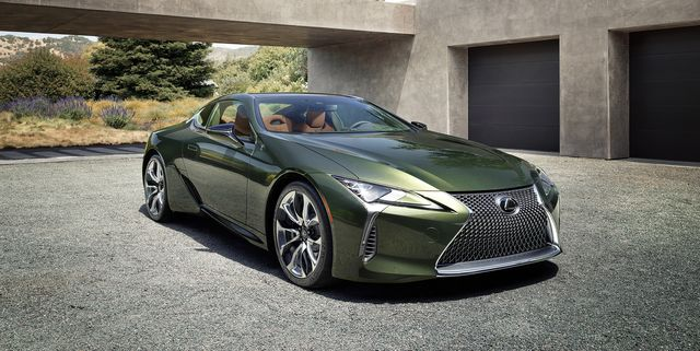 2021 Lexus LC Coupe Gets Android Auto, Suspension Tweaks