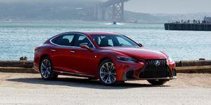 2020 Lexus LS500 front