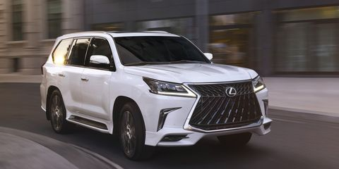 2020 Lexus LX570 Looks a Bit Sportier with New Package