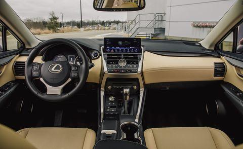 2020 LExus NX300h interior