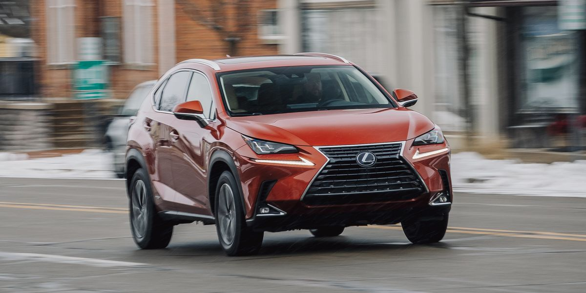 The Popular Lexus NX300h Makes Hybrid Crossovers Look Cool