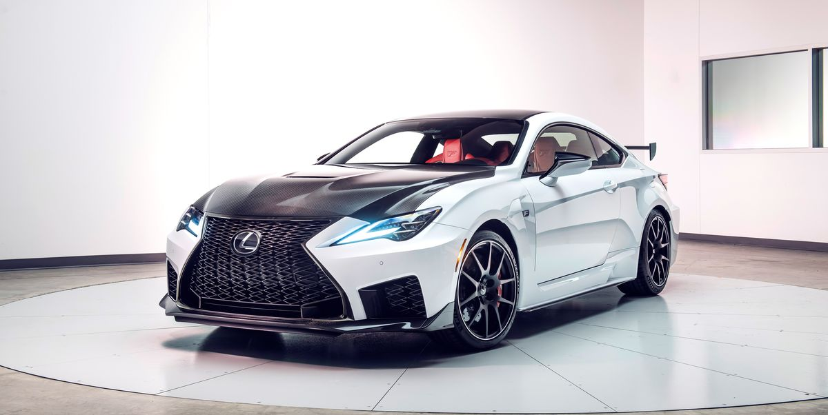 2020 Lexus RC F Updated – V-8 Sports Coupe Adds a Track ...