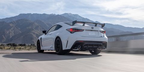 The 2020 Lexus RC F Track Edition Speaks in Smoke Signals—Tire Smoke
