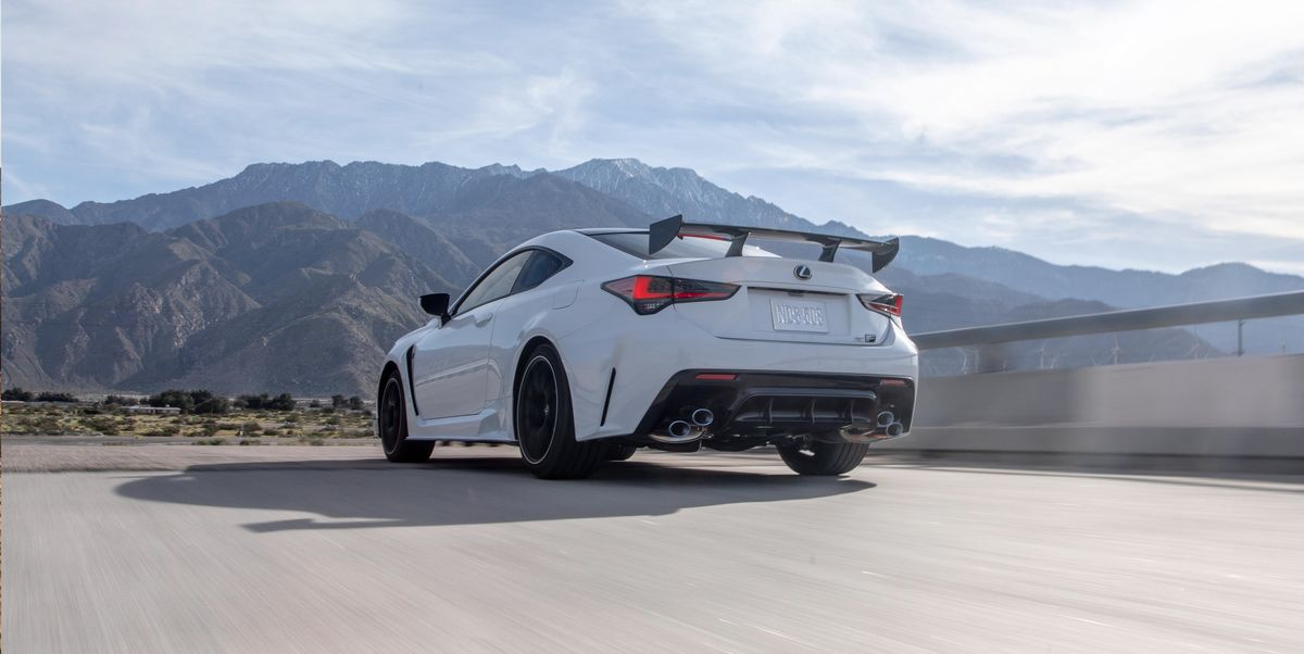 2020 Lexus RC F Track Edition – Lighter V-8 Coupe