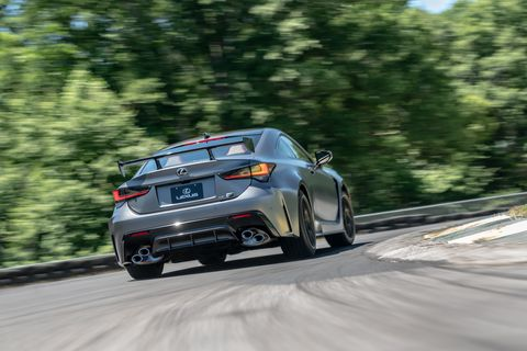 2020 Lexus RC F Track Edition at Lightning Lap 2019