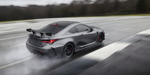 New Lexus RC F Track Edition for 2020 Debuts at the Detroit