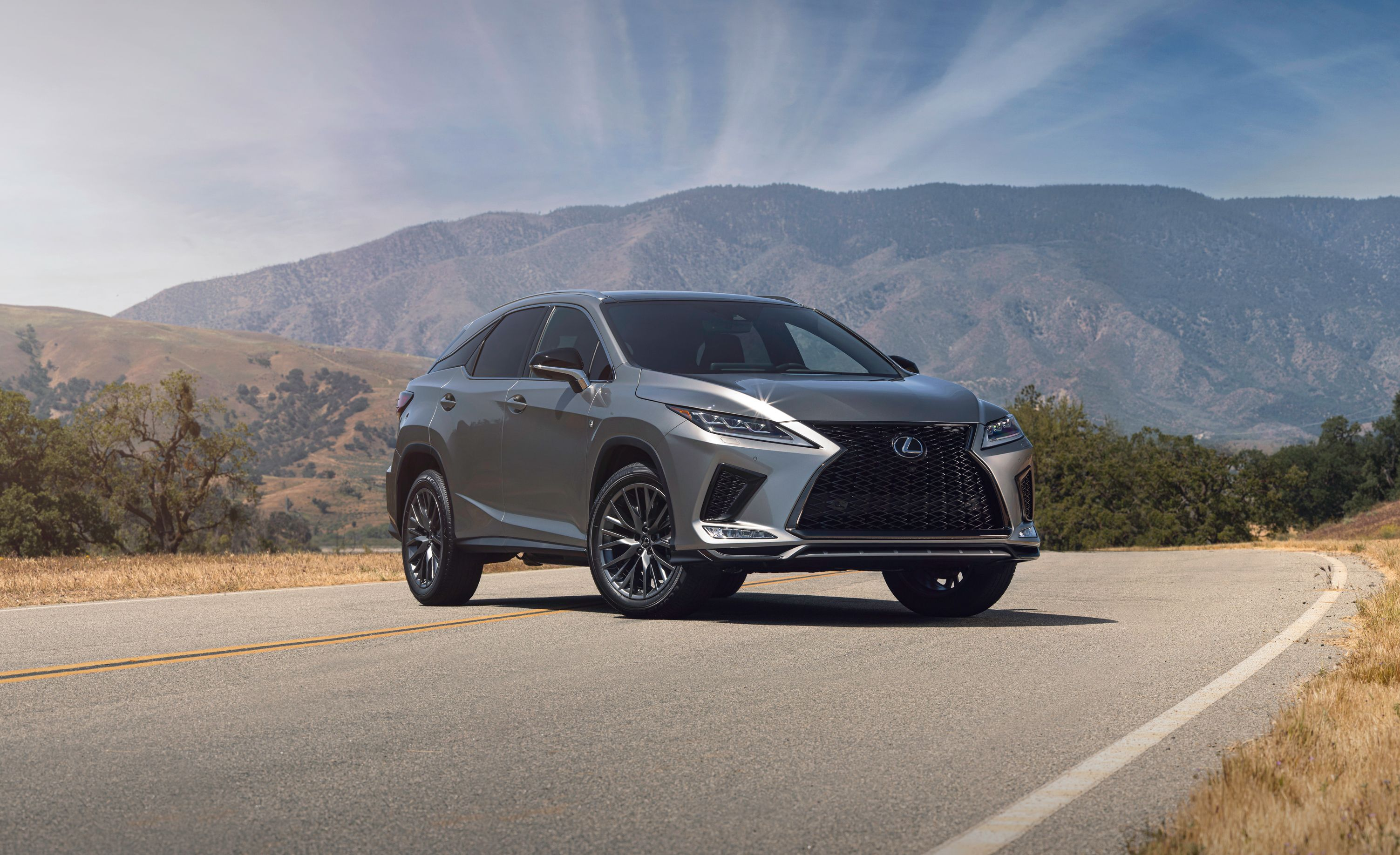 2020 Lexus Rx350 And Rx450h Details Of Updated Models