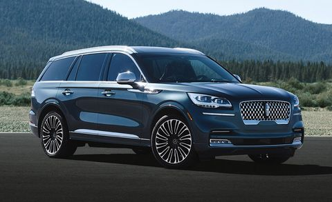 lincoln aviator suv pricing trim levels equipment