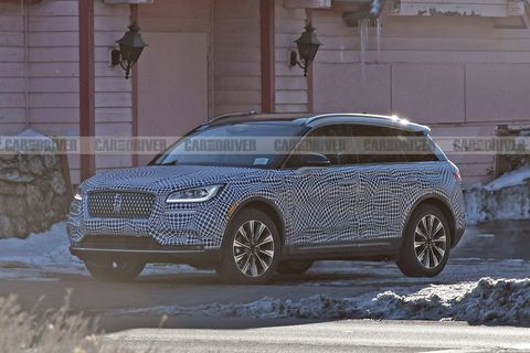 Lincoln Corsair Spied ahead of Schedule; Plug-In Hybrid Possible