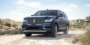 2020 Lincoln Navigator front