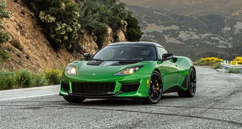The 2020 Lotus Evora GT Is Quicker, Lighter, and Better-Looking