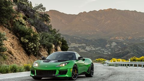 Lotus Sports Car >> New Lotus Cars Models And Prices Car And Driver