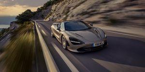 2020 McLaren 720S front