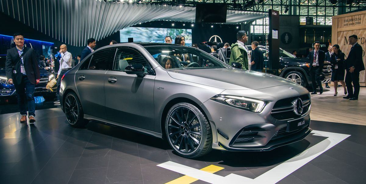 "2020 Mercedes-AMG A35 Sedan - 302-HP ""Entry-Level"" AMG"