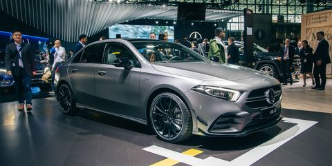 "Mercedes Suv Lease >> 2020 Mercedes-AMG A35 Sedan - 302-HP ""Entry-Level"" AMG"