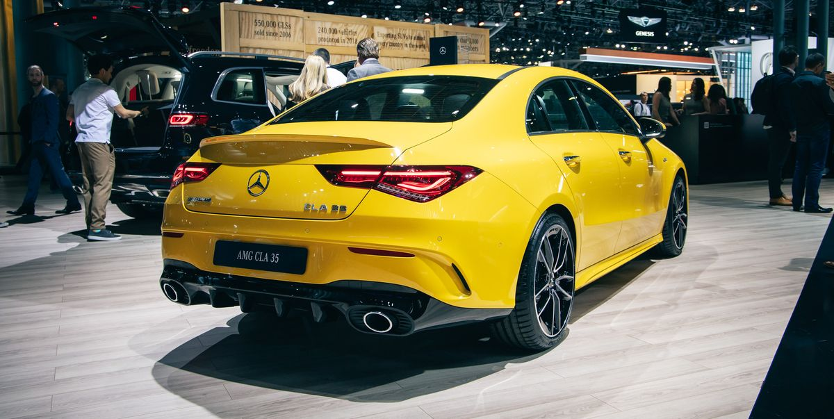 2020 Mercedes Amg Cla35 Is The Prettiest Entry Level Amg