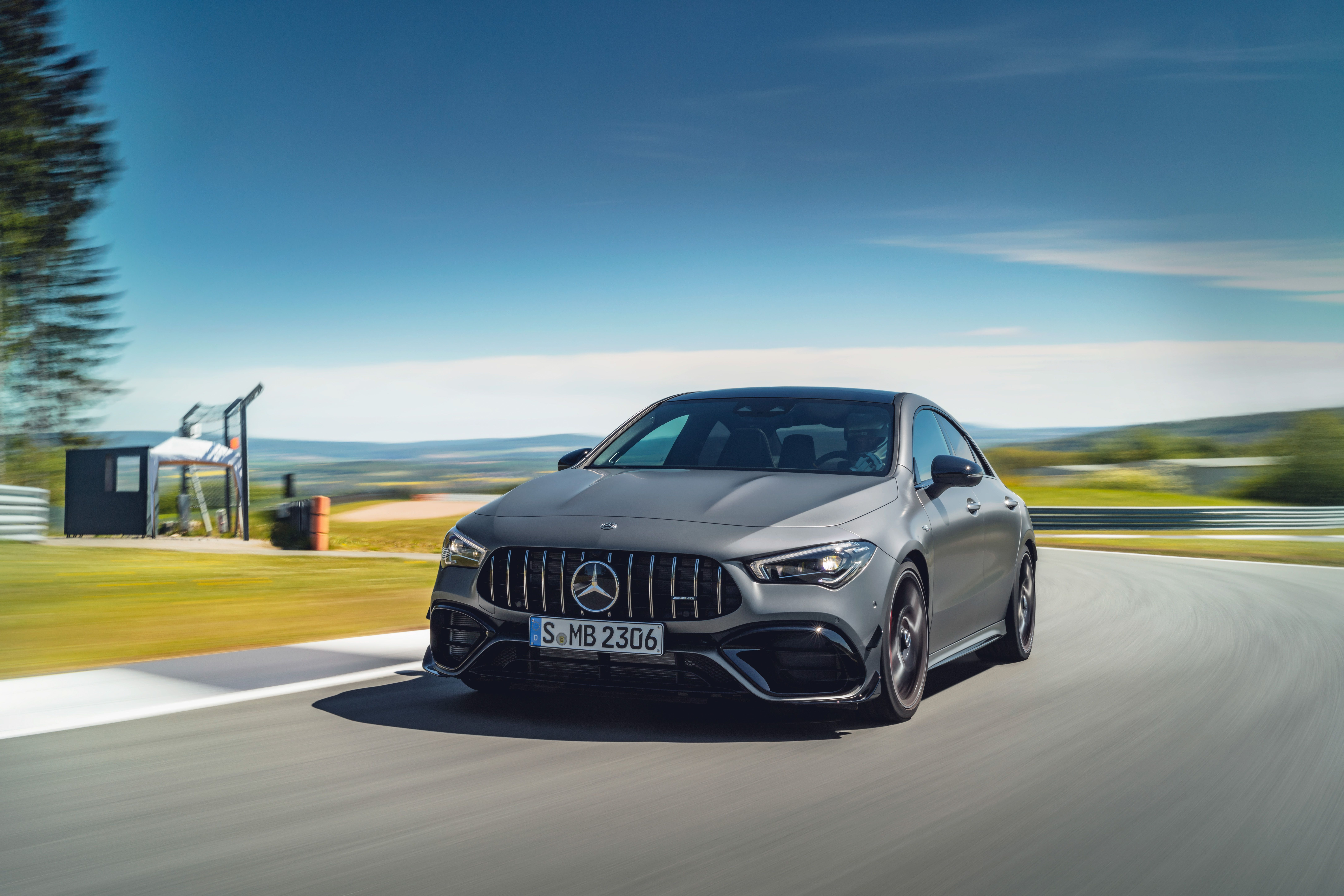 2020 Mercedes Amg Cla45 382 Hp Compact Four Door Coupe