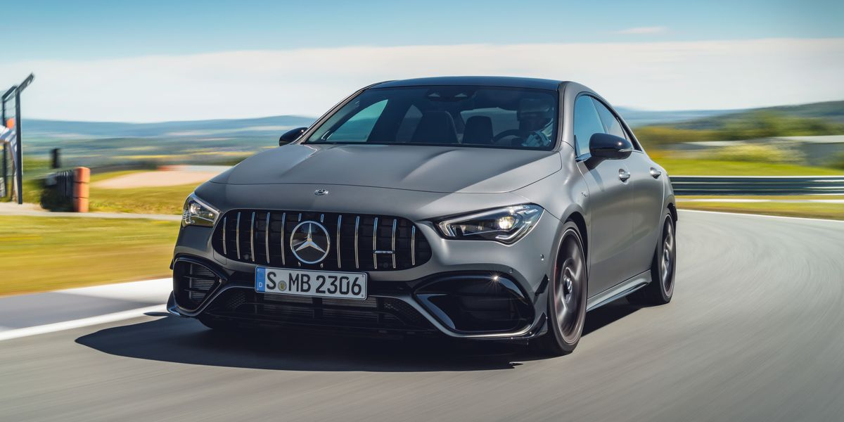 2020 Mercedes-AMG CLA45 – 382-HP Compact Four-Door Coupe