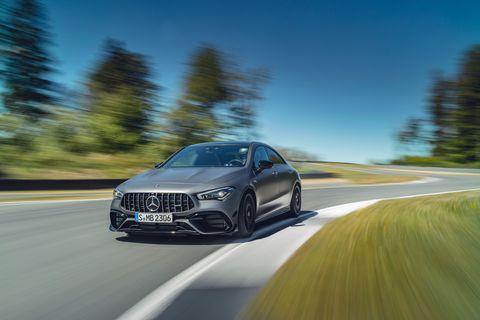2020 Mercedes-AMG CLA45 S (Euro-spec)
