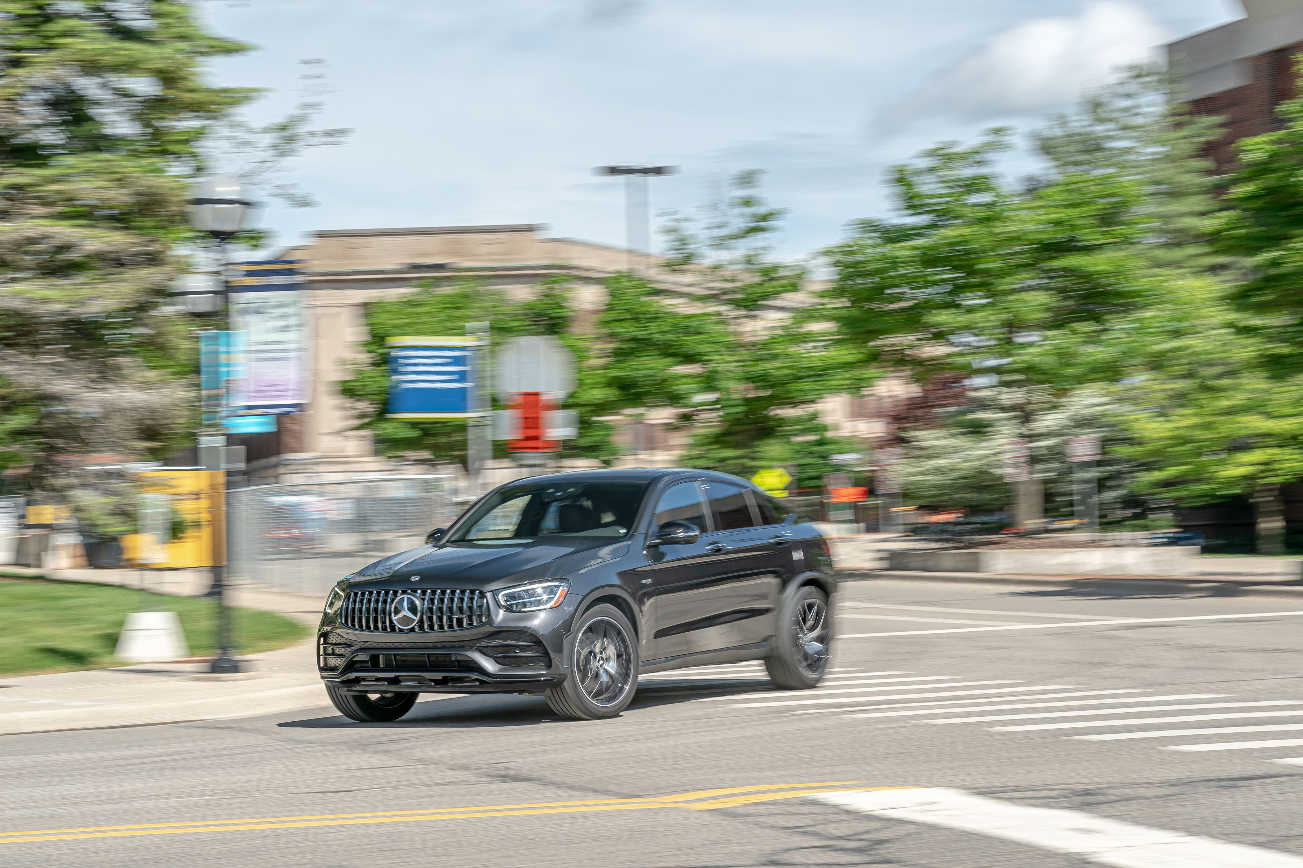 2020 Mercedes Amg Glc Class Coupe Review Pricing And Specs