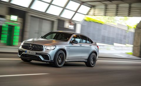 2020 Mercedes Amg Glc63 S Coupe Twin Turbo V 8 Fastback Suv