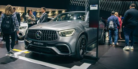 The 2020 Mercedes Amg Glc63 Suv And Coupe Details And Specs