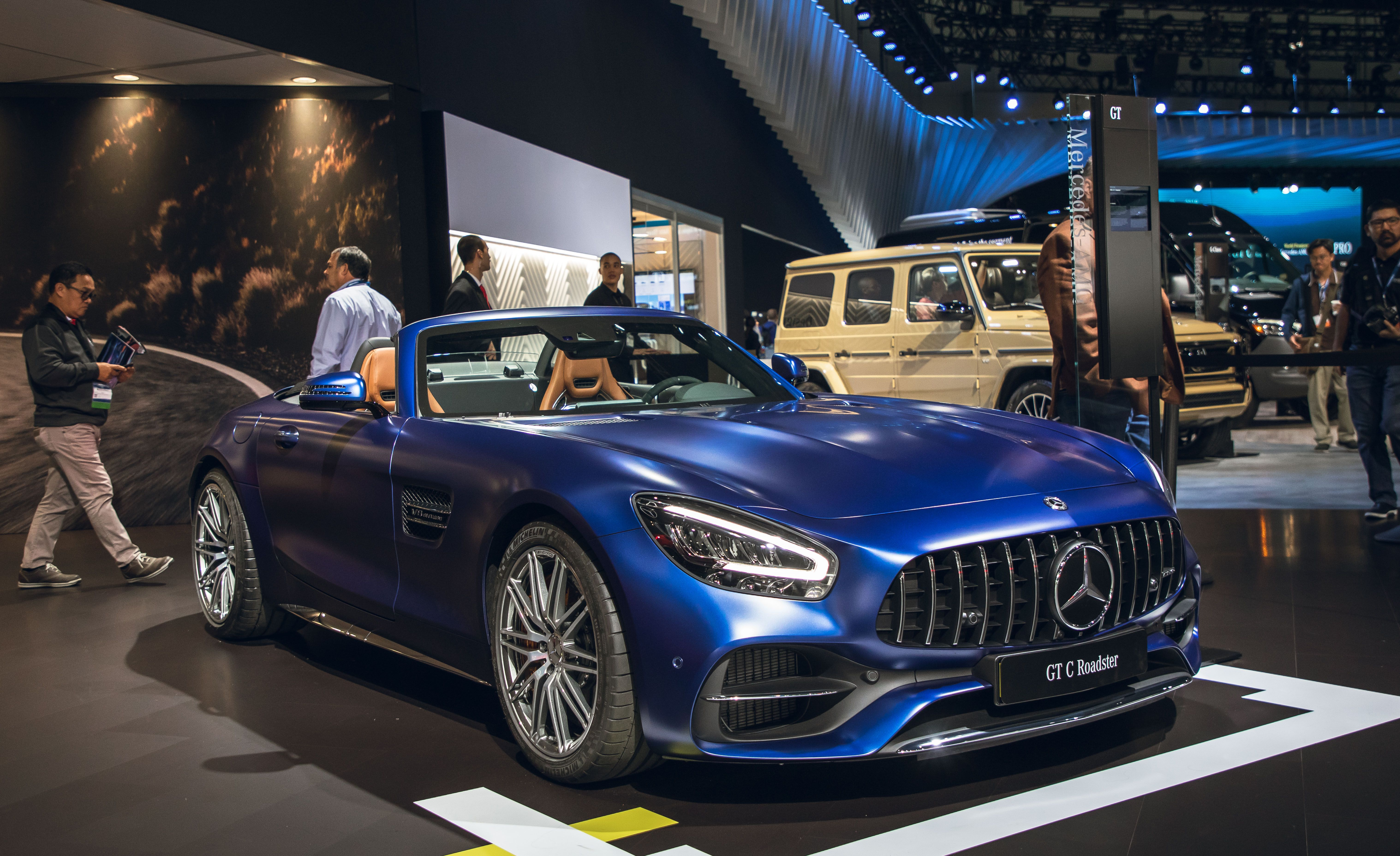 2020 Mercedes Amg Gt Coupe And Roadster Get Tech Performance Updates