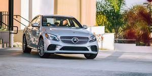 2020 Mercedes-Benz C-class front