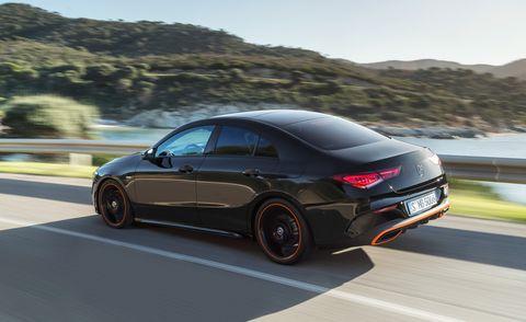 2020 Mercedes-Benz CLA rear