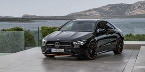 2020 Mercedes-Benz CLA front