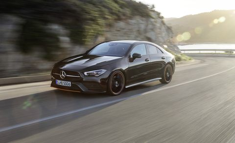 2020 Mercedes Benz Cla New Compact Four Door Coupe