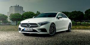 2020 Mercedes-Benz CLS-class front