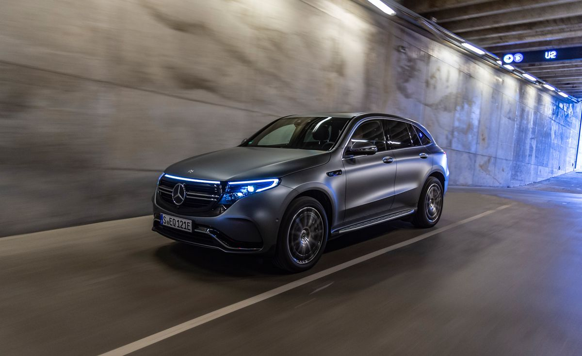 2020 Mercedes Benz Eqc Electric Mercedes Suv