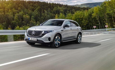 2020 Mercedes Benz Eqc Gets Serious About Evs