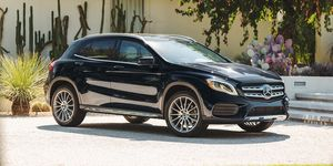 2020 Mercedes-Benz GLA-class front