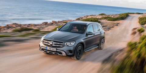 2020 Mercedes-Benz GLC: Update, Changes, More Power, Release >> 2020 Mercedes Benz Glc Crossover Fresh Styling And A New Engine