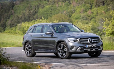 2020 Mercedes-Benz GLC300 front
