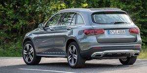 2020 Mercedes-Benz GLC300 rear