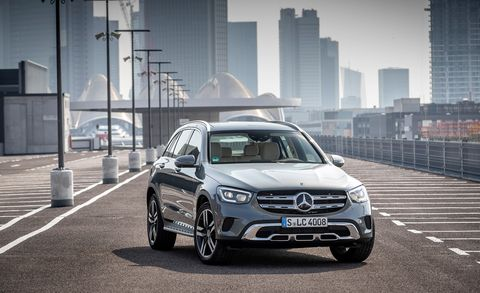 2020 Mercedes-Benz GLC Coupe front