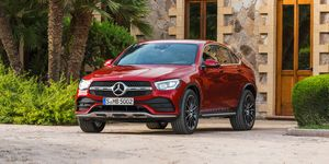 2020 Mercedes-Benz GLC300 Coupe front