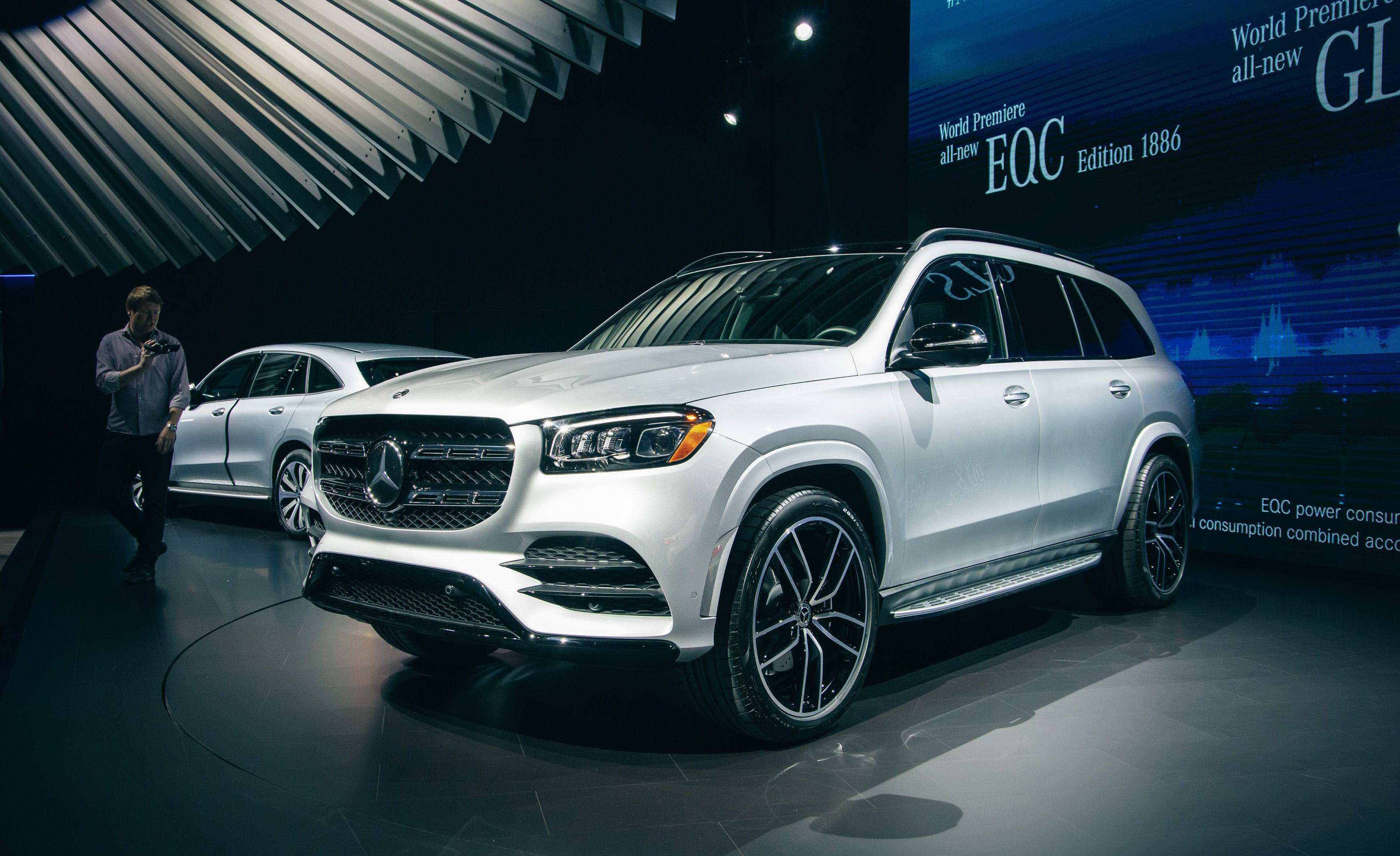 2020 Mercedes Benz Gls Large Luxurious Three Row Suv